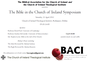 Bible in the Church of Ireland